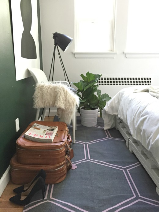 Bedroom styled by Kirsten Grove