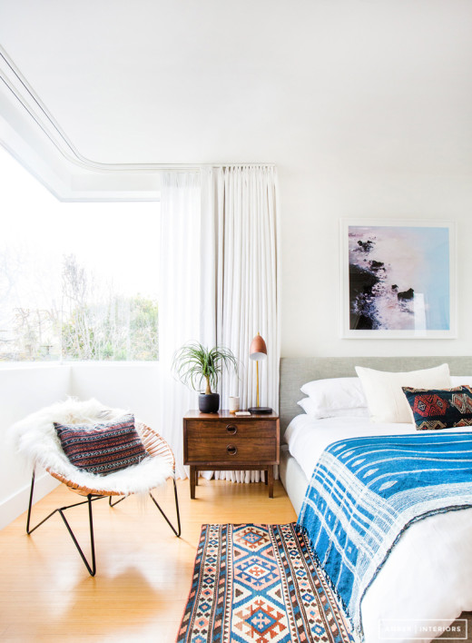 Bedside Table Styling via Simply Grove. Written by Mindy Bucklew
