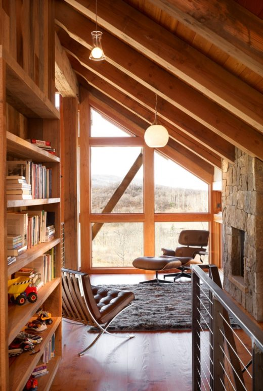 Modern Cabin Inspiration via Simply Grove