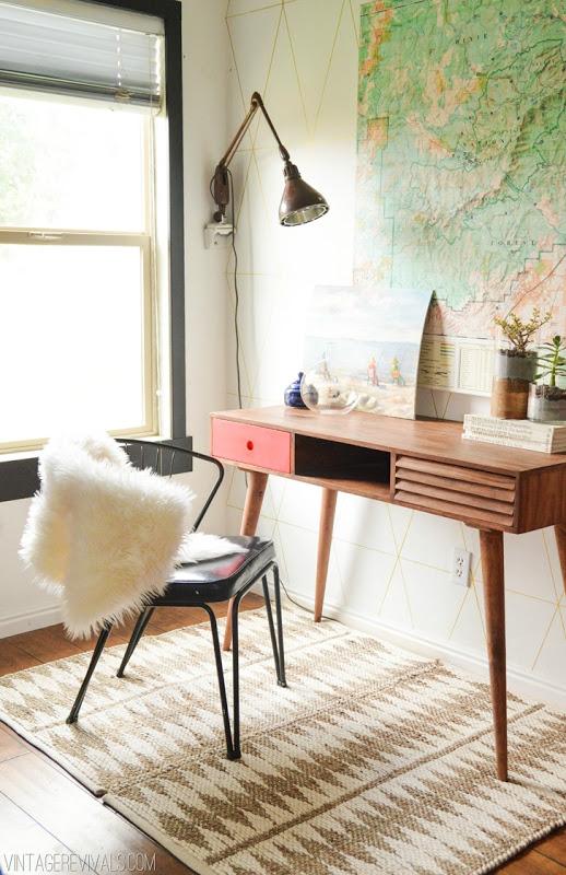 Corner Office via Simply Grove