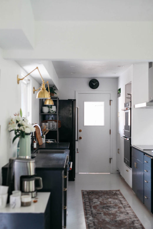 Kirsten Grove's kitchen renovation via simply grove. Photo by Karen Krum.