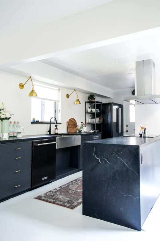 Kirsten Grove's kitchen renovation via simply grove