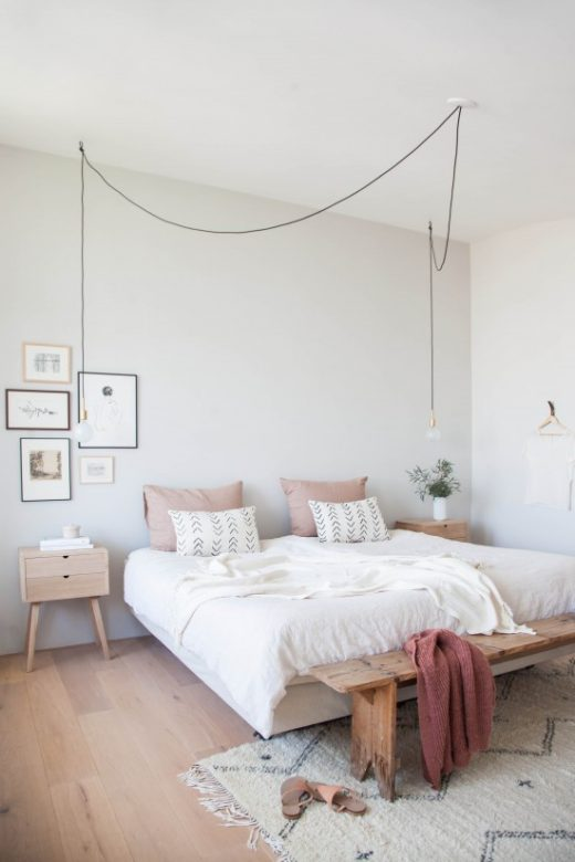 How to decorate your bedroom like an adult via Simply Grove