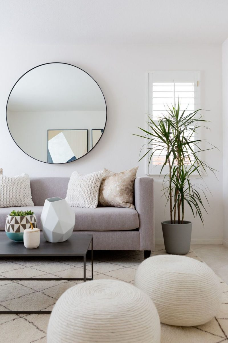 Mood Board Monday Round Mirrors Under 300