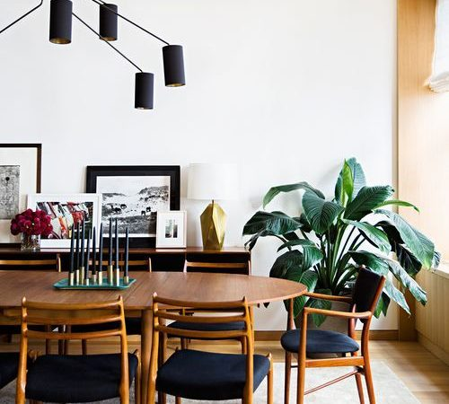 How to Get the Mid Century Modern Aesthetic in Your Dining ...