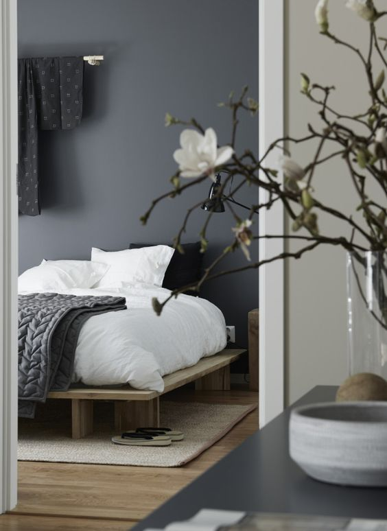 How to get the Japanese Modern Aesthetic in Your Bedroom via Simply Grove