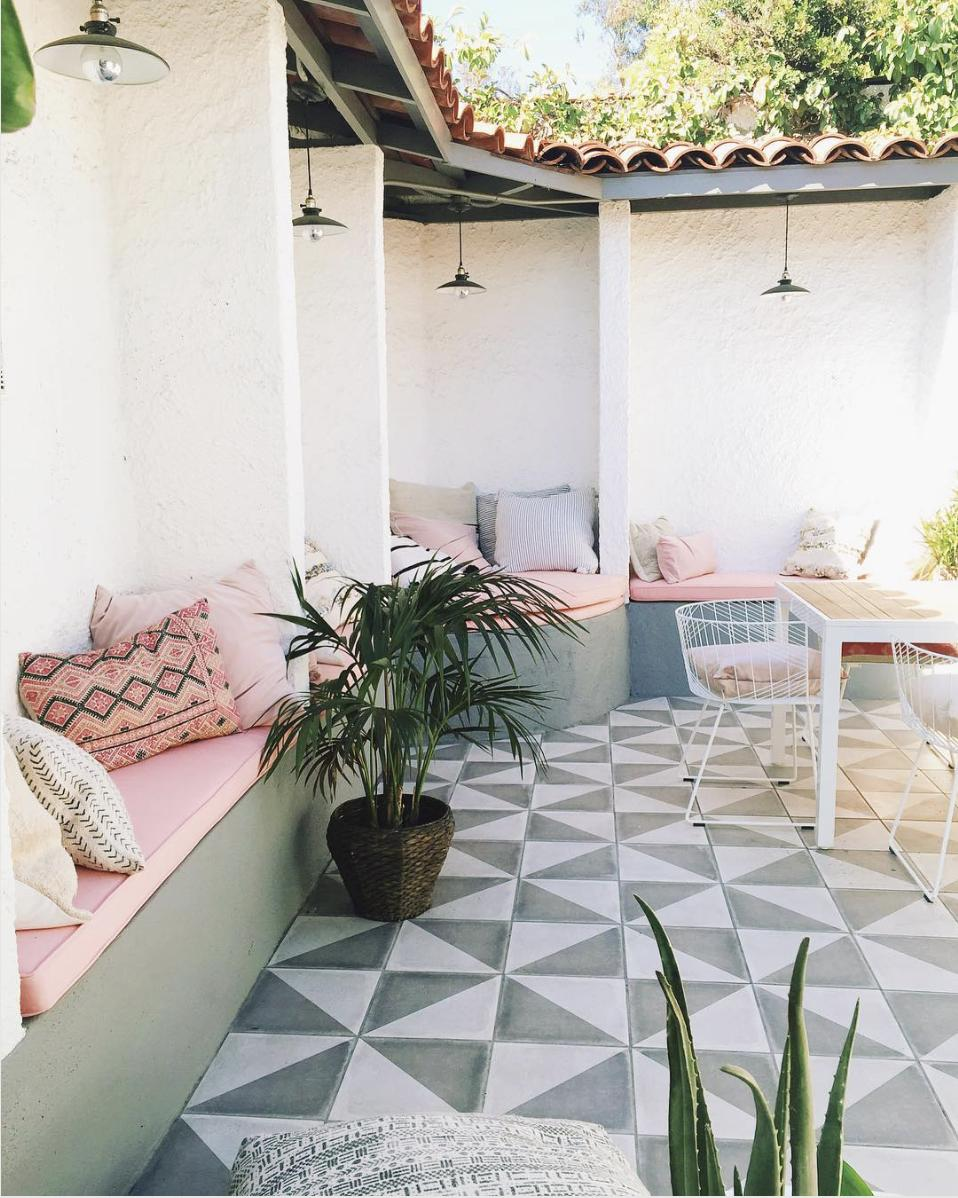How to get the Spanish Aesthetic in Your Patio via Simply Grove