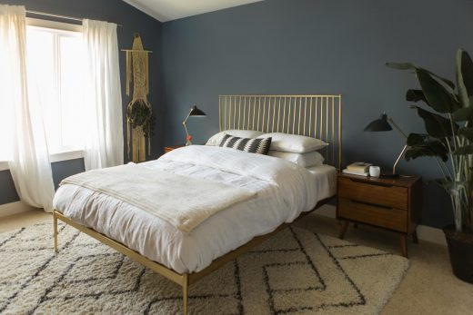 Bedroom makeover via simply grove