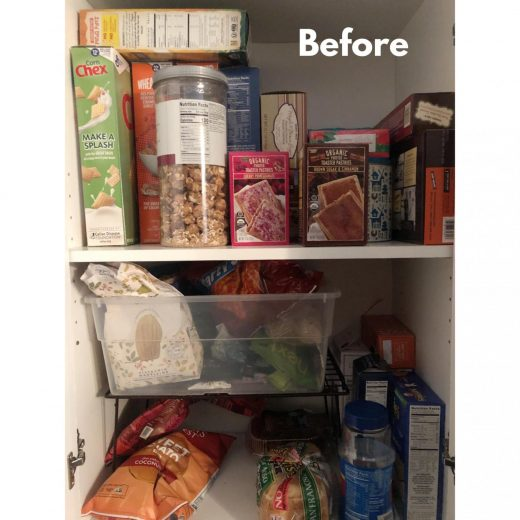 Pantry Makeover with Bed Bath and Beyond
