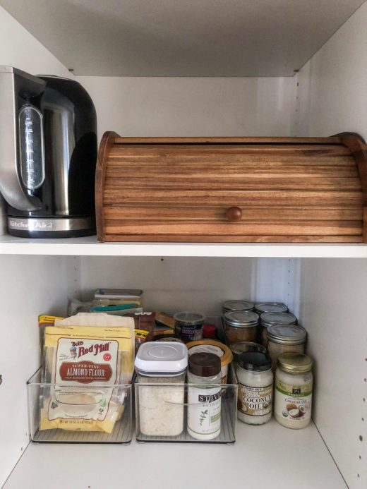 organizing my pantry via simply grove