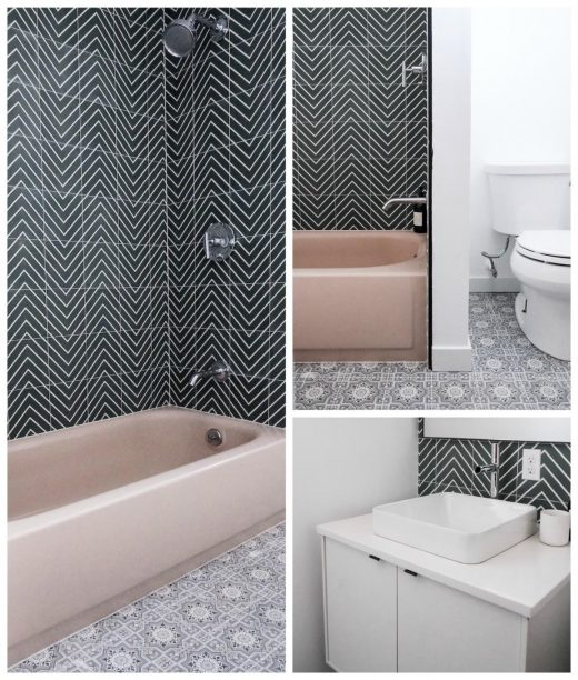 Kirsten Grove's Bathroom renovation via Simply Grove