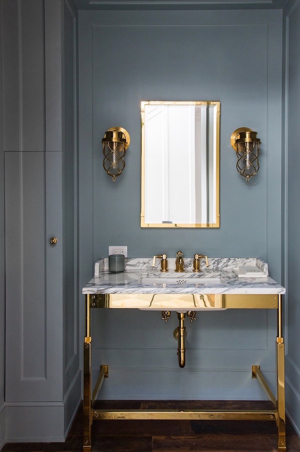 Bathroom Inspo via Simply Grove